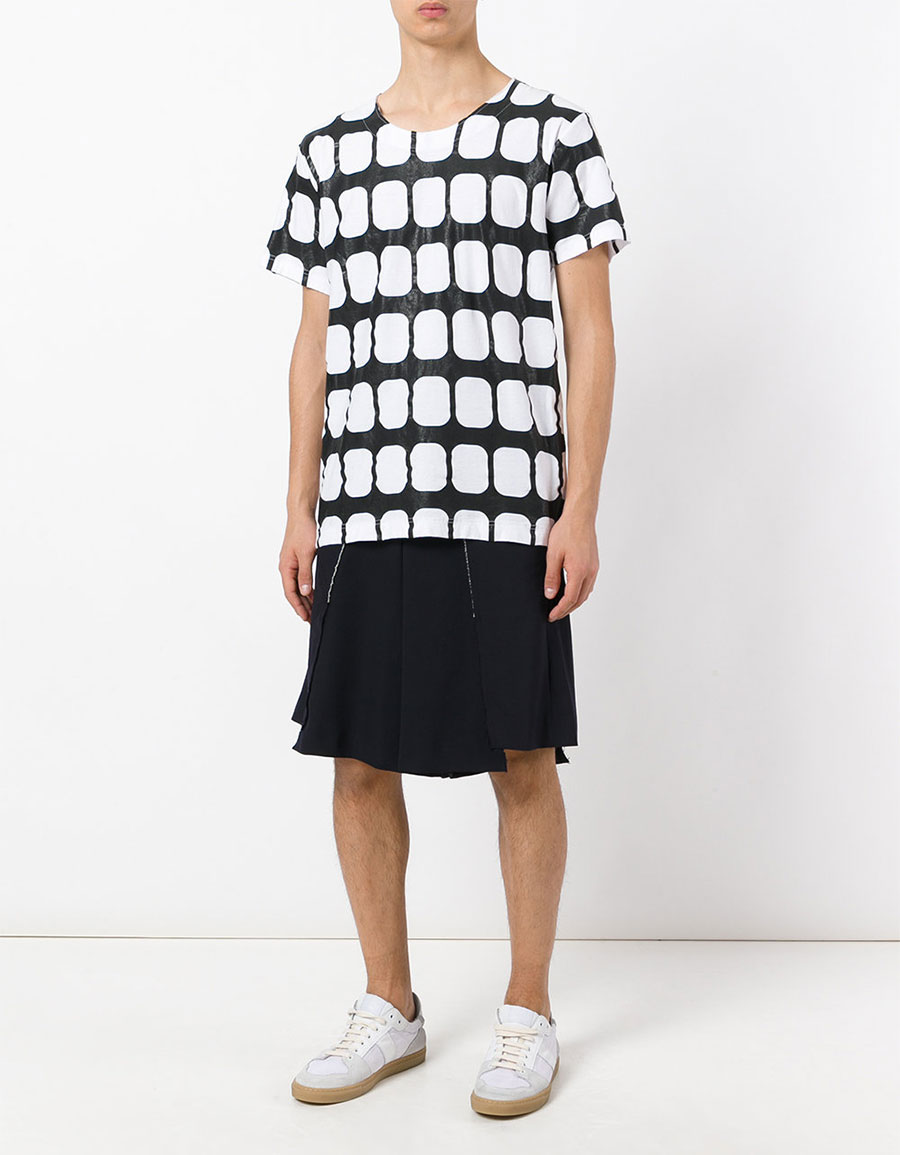 COMME DES GARÇONS Geometric T shirt