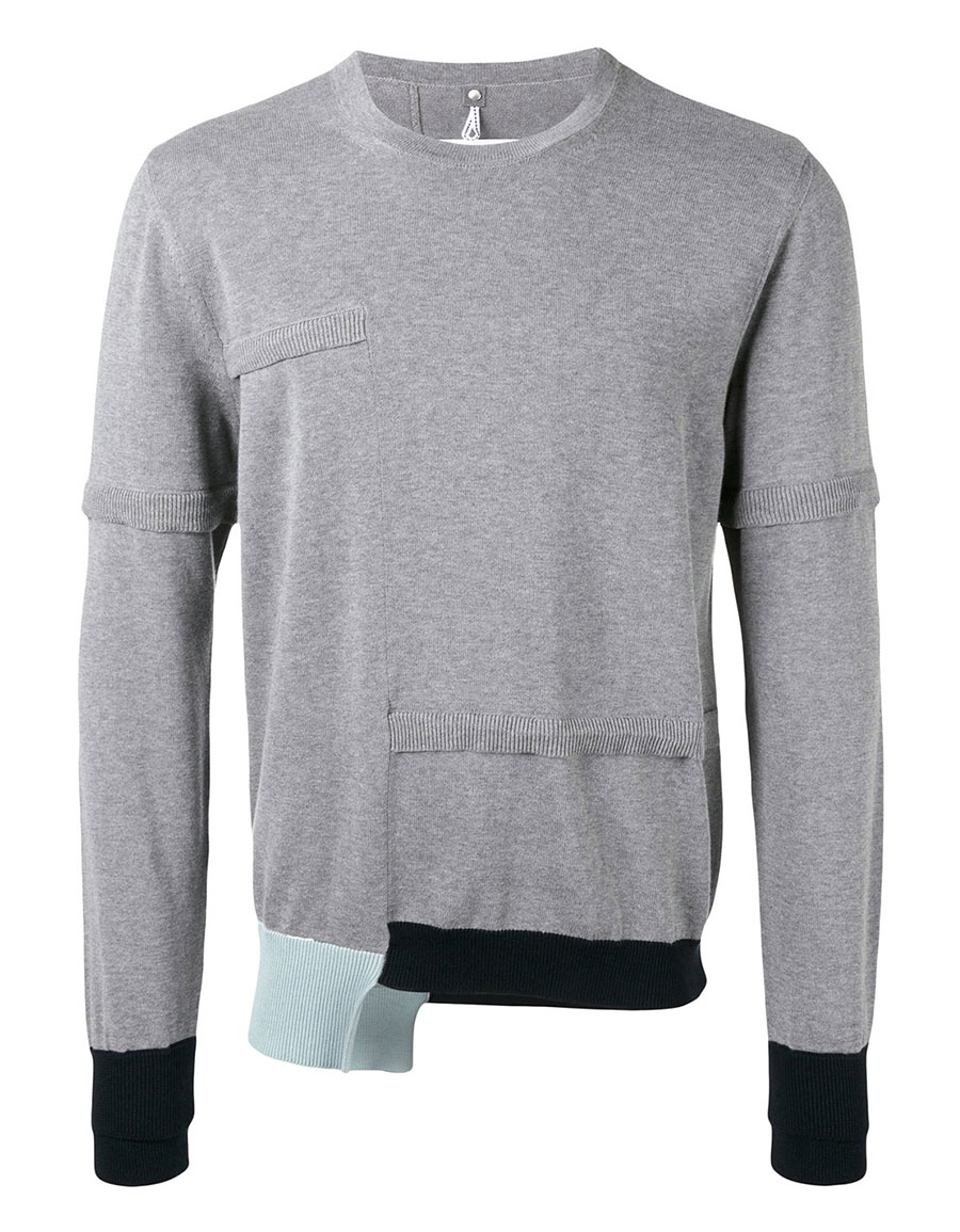 OAMC Contrast cuff sweater