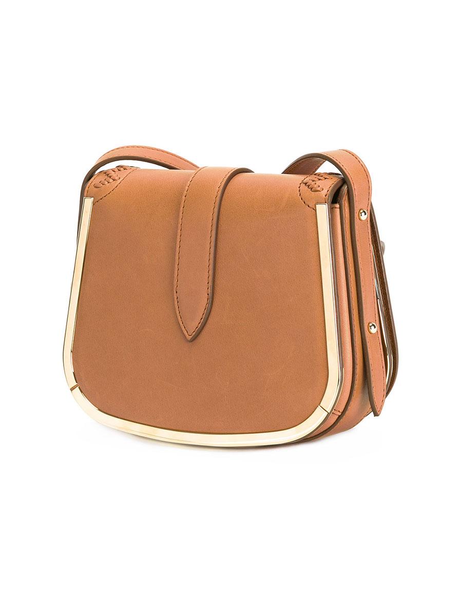 SALVATORE FERRAGAMO Gancini plaque shoulder bag