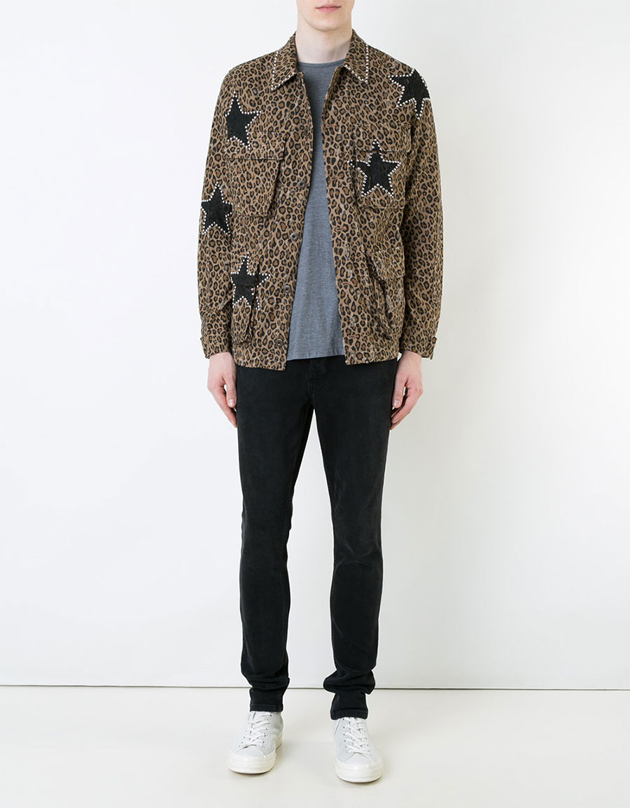 AMIRI Star print shirt jacket