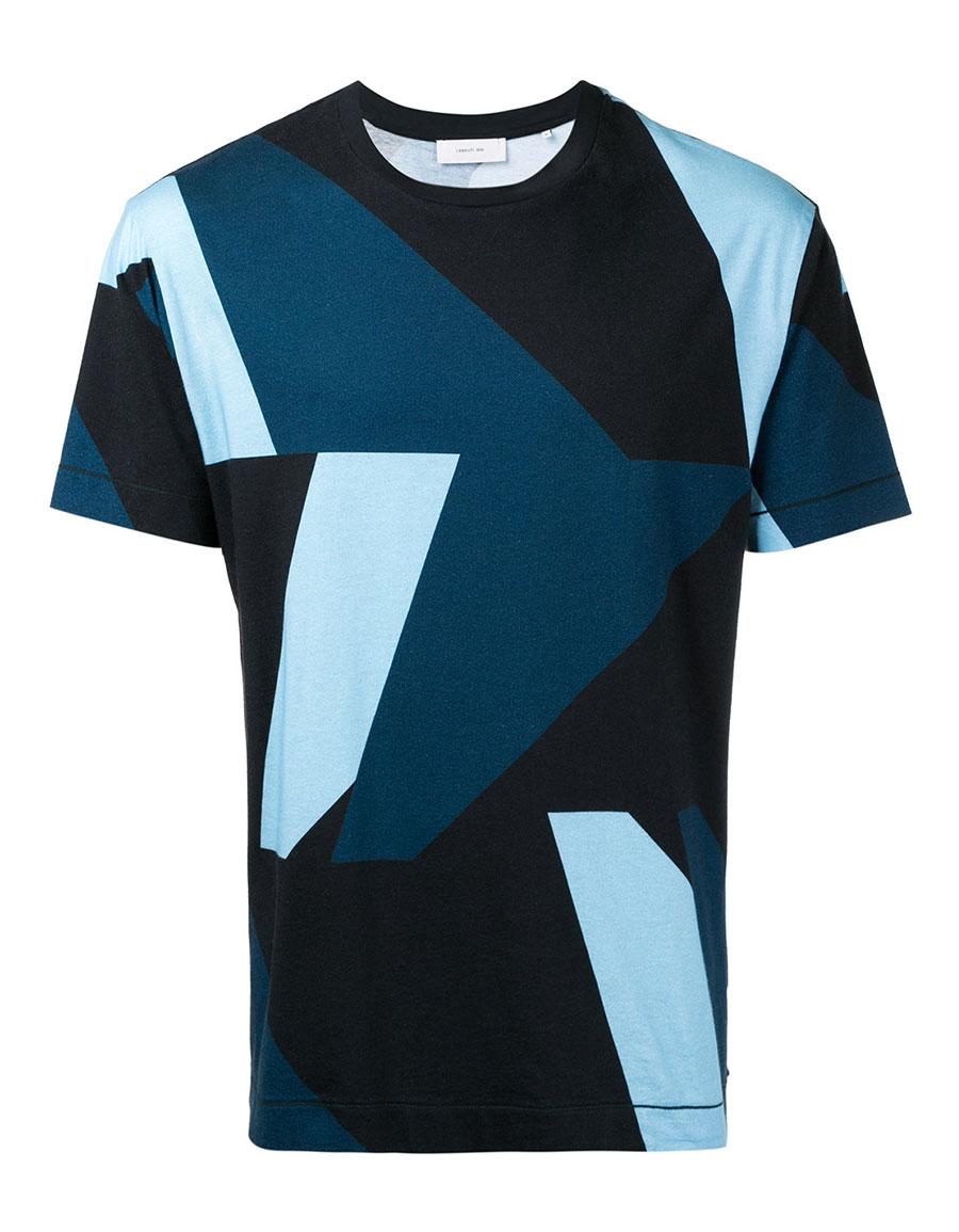 CERRUTI 1881 Colour block T shirt