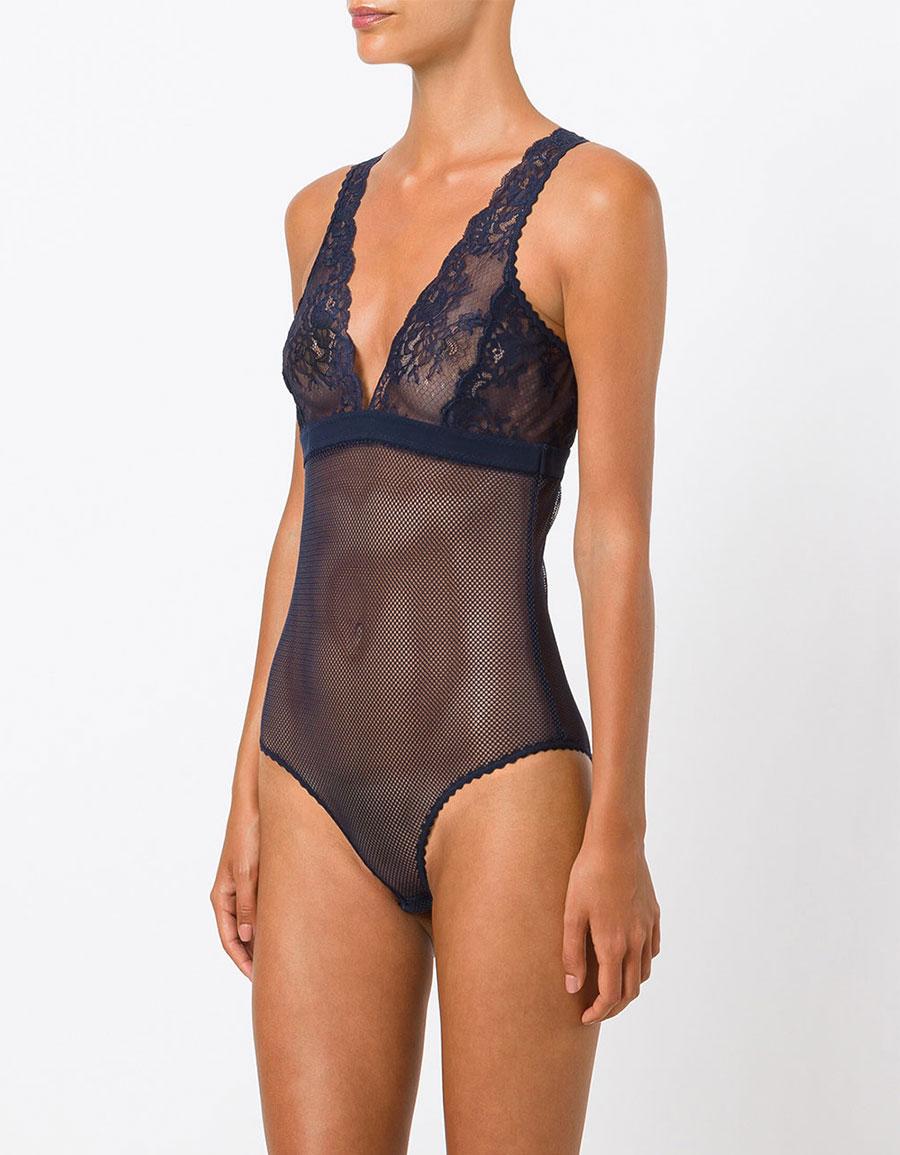 STELLA MCCARTNEY Sophie Surprising lace bodysuit