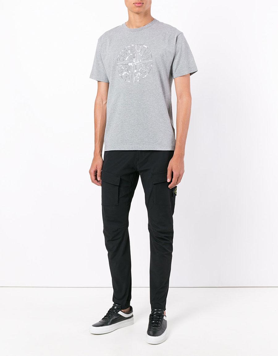 STONE ISLAND Slim fit trousers