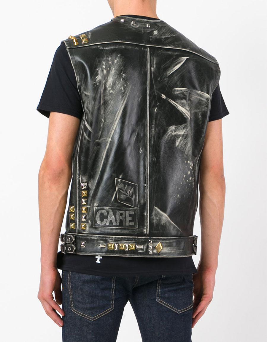 HEIKKI SALONEN Leather vest