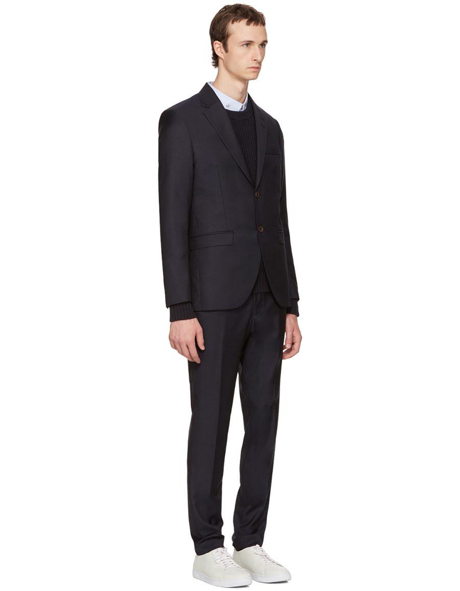 TIGER OF SWEDEN Navy Lamonte Suit