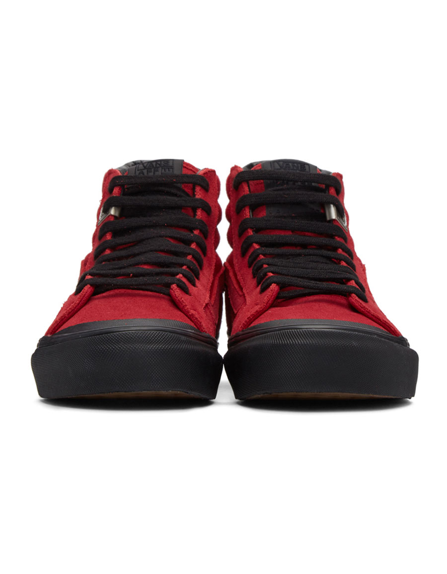 d702405964 VANS Red Alyx Edition OG Style 138 LX High-Top Sneakers · VERGLE