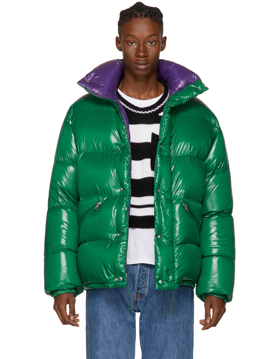 moncler green purple