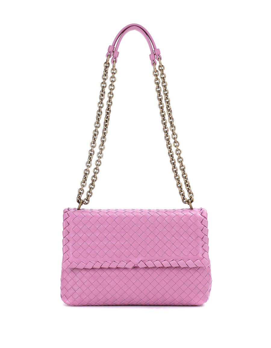 45bfce8b8c BOTTEGA VENETA Olimpia Small leather shoulder bag buy popular e8587 048e0  ...