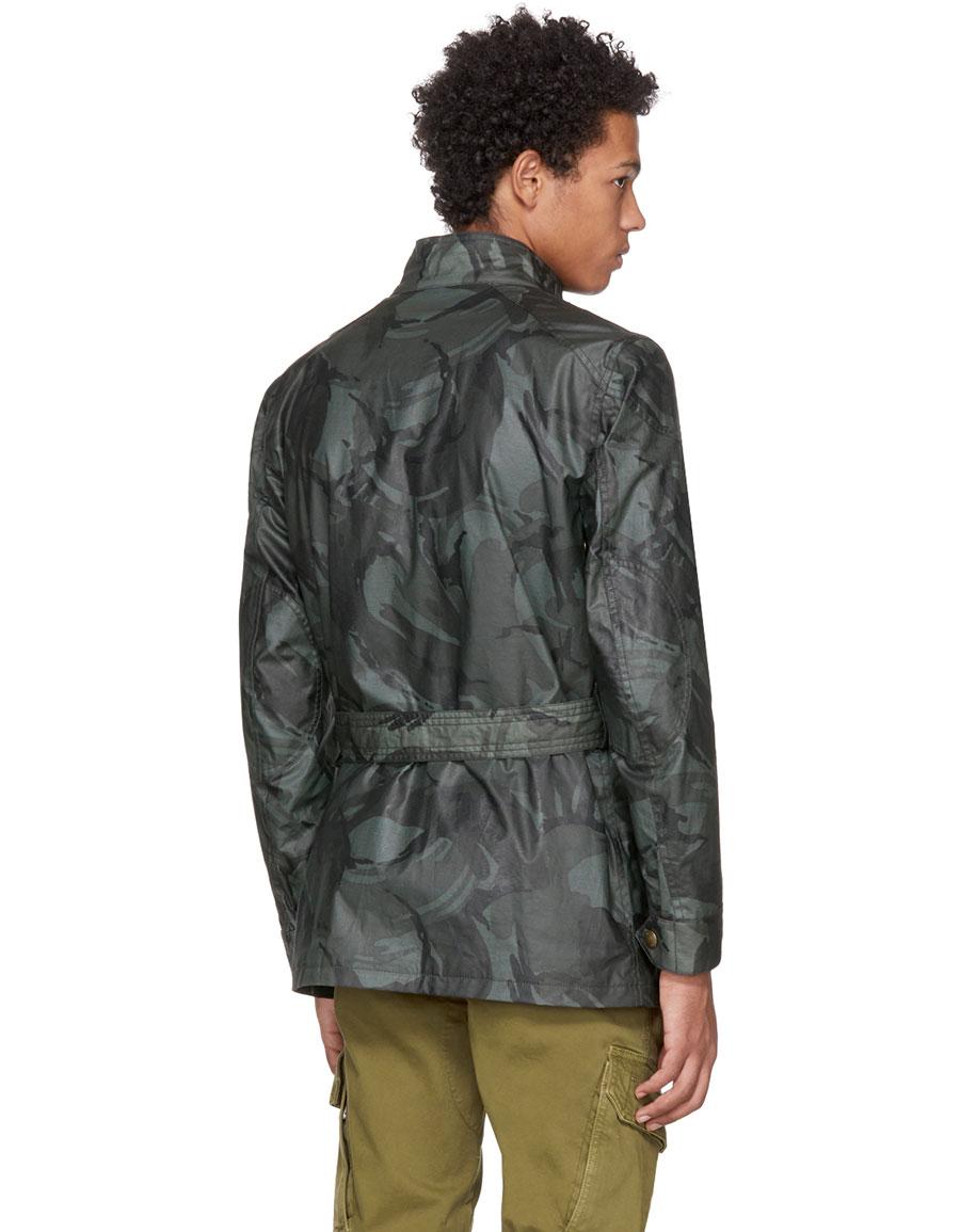 BELSTAFF Grey Waxed Road Master BXS Jacket