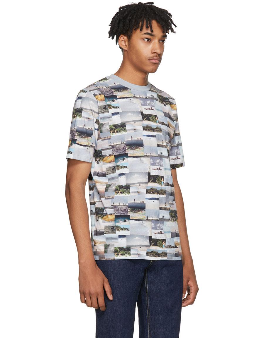 HOPE Multicolor College Link T Shirt