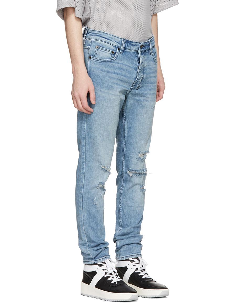 KSUBI Blue Chitch Jeans