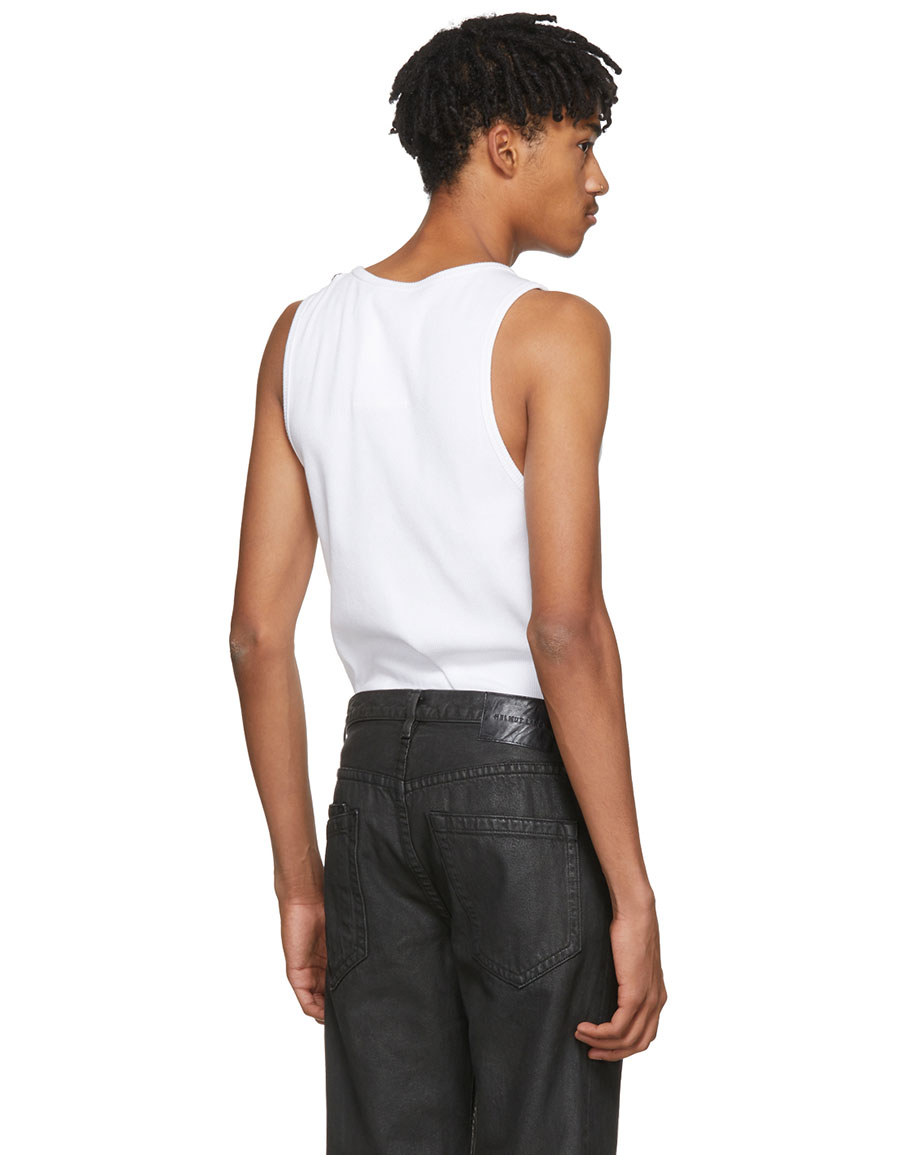 d9dd013b47ff2 HELMUT LANG White Reveal Tank Top · VERGLE