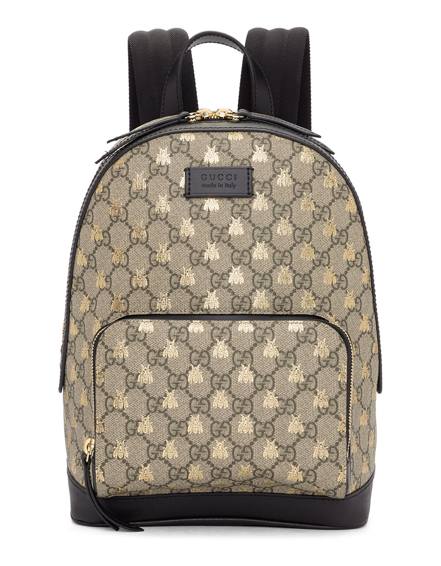 GUCCI Brown GG Supreme Bestiary Backpack · VERGLE