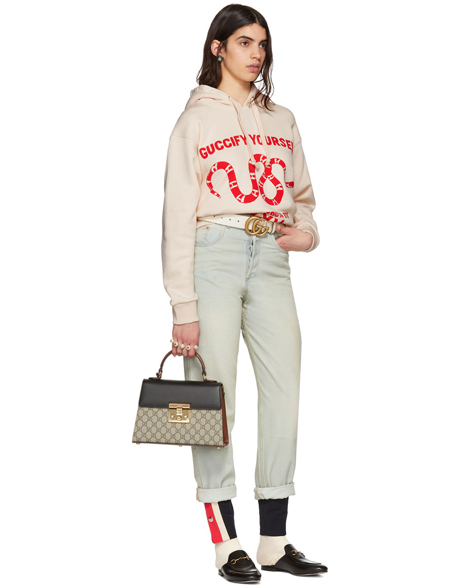 GUCCI Off White 'Guccify Yourself' Hoodie