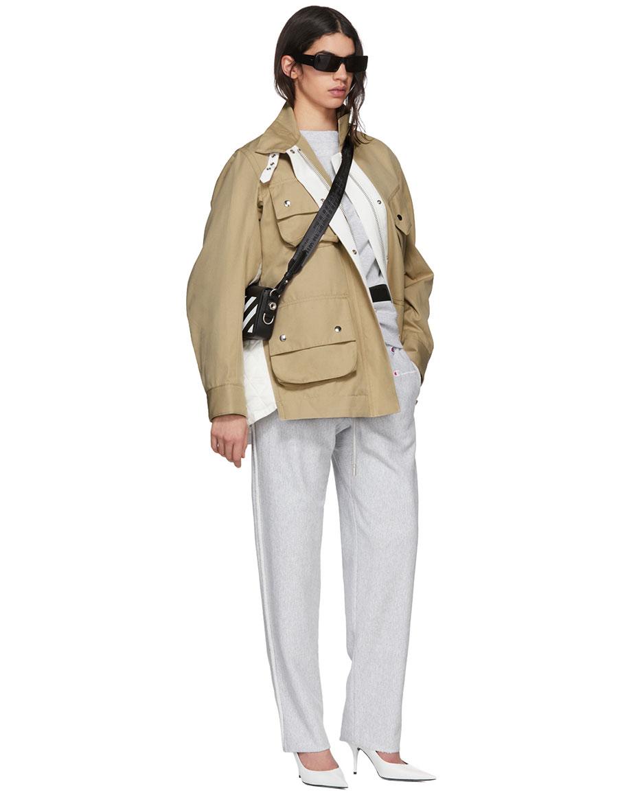 OFF WHITE Grey Champion Edition Sweatpants