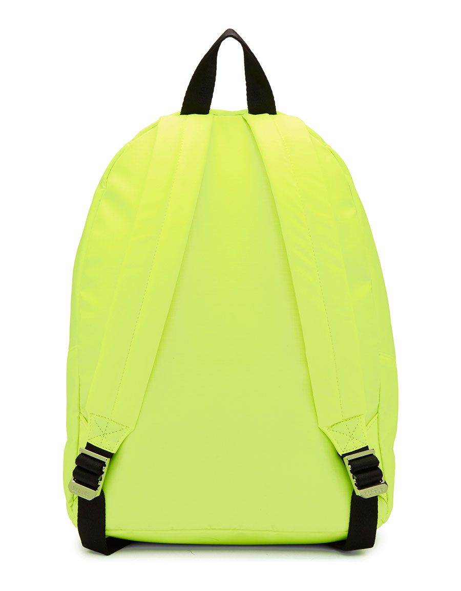 VERSUS Yellow Neon Nylon Backpack