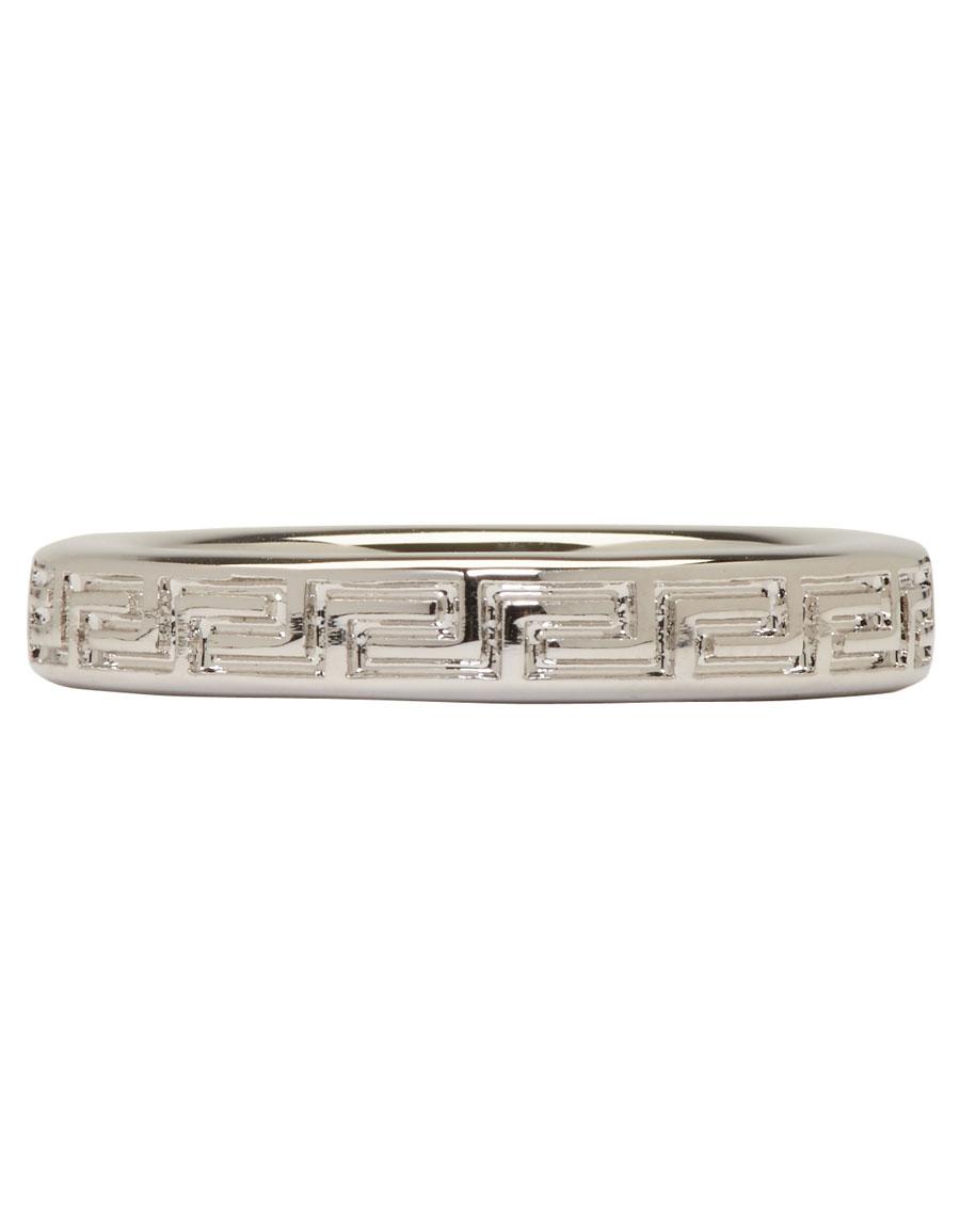 VERSACE Silver Empire Ring