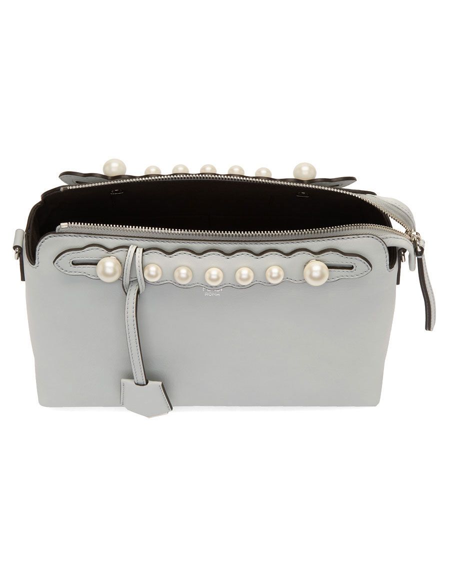 13d11641fa FENDI Grey Medium Pearl  By The Way  Bag · VERGLE