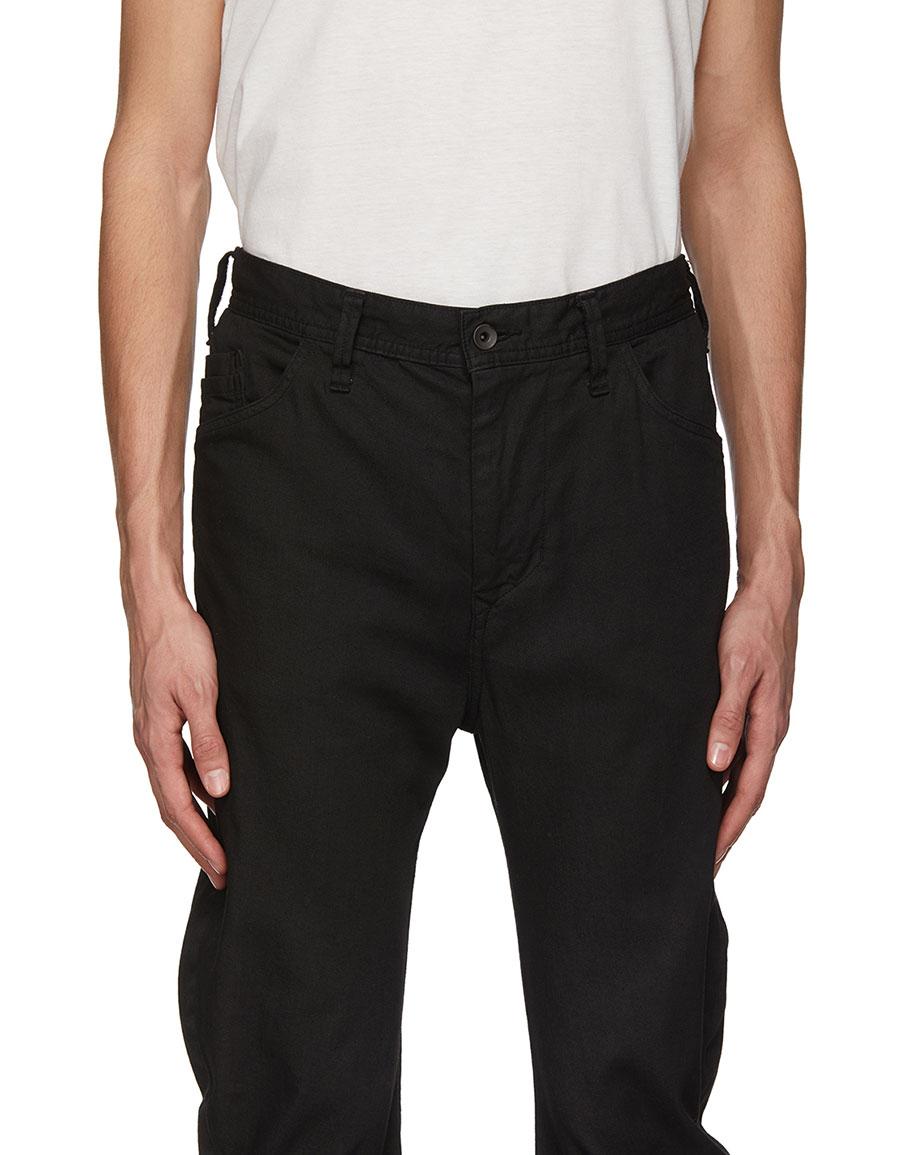 JULIUS Black Skinny Jeans