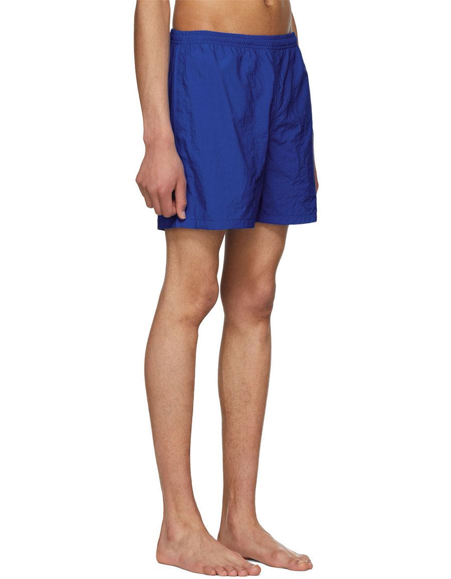 NOAH NYC Blue Swim Shorts