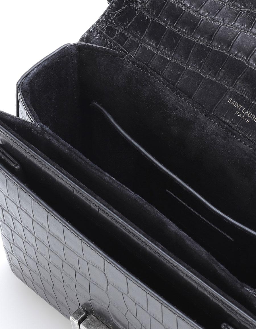 SAINT LAURENT Medium Bellechasse leather shoulder bag