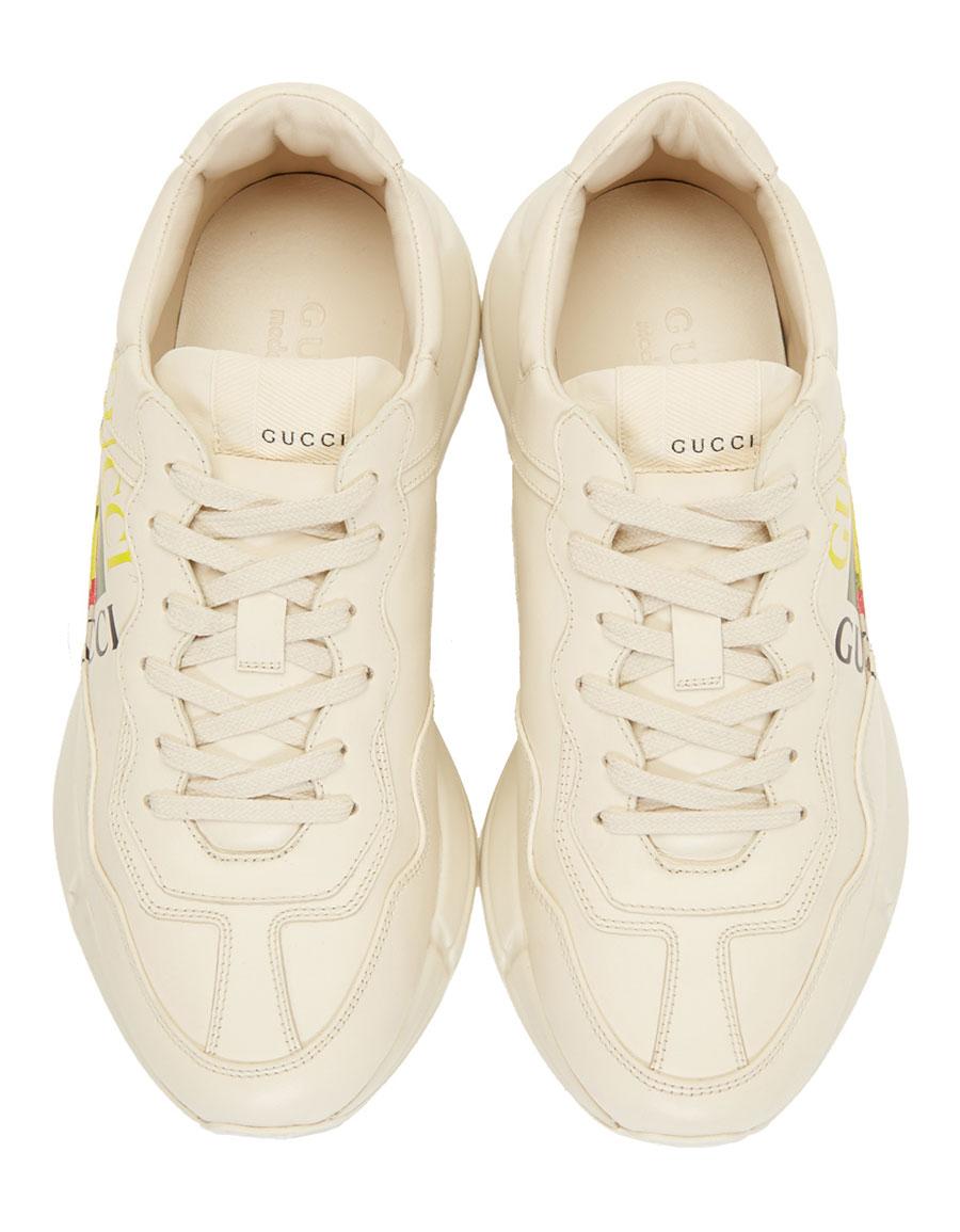 d4c09cc4543 GUCCI Off-White  Gucci Cube  Rhyton Sneakers · VERGLE
