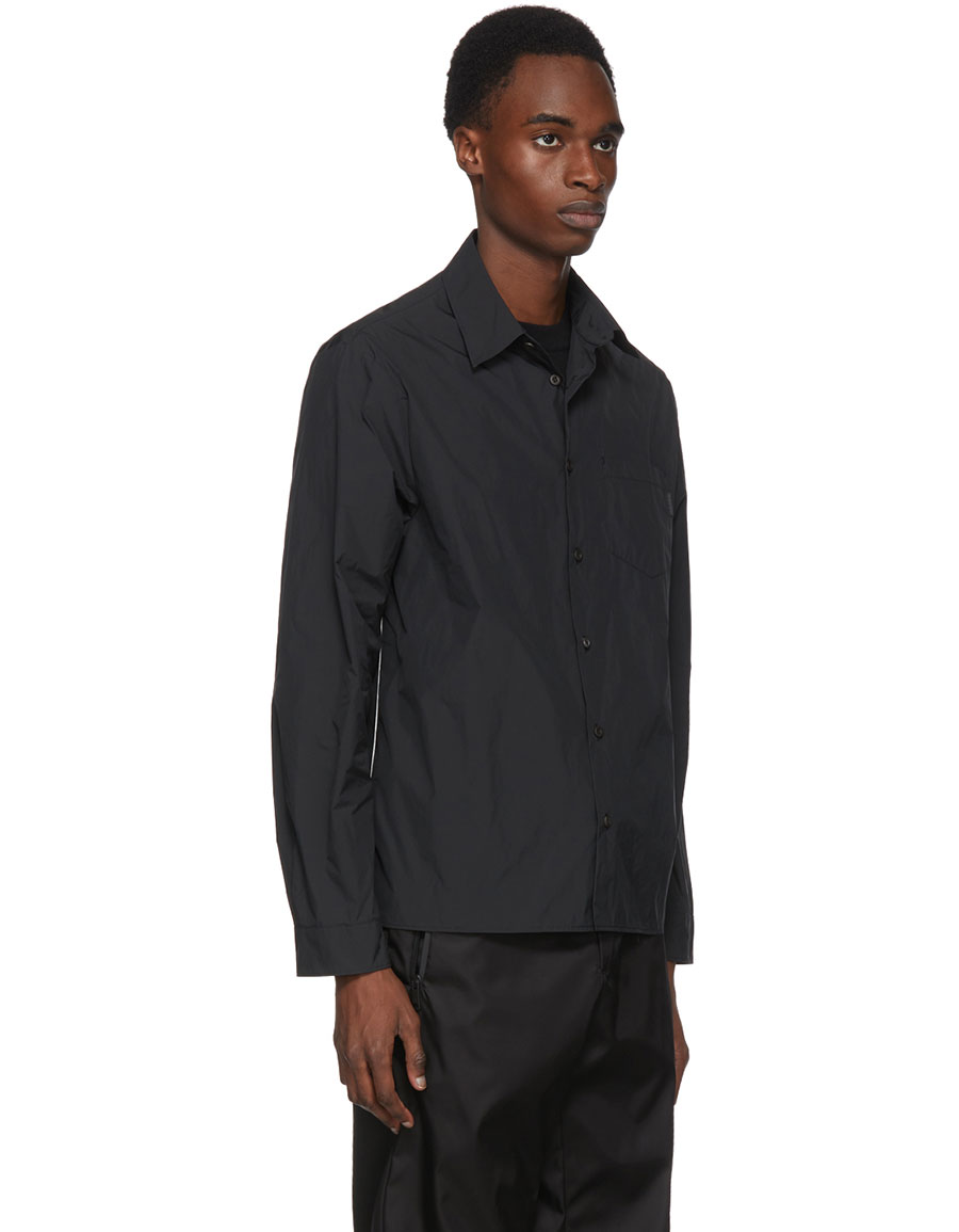 PRADA Black Patch Shirt