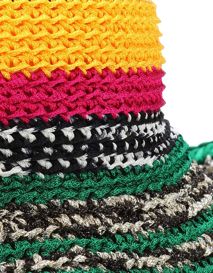 MISSONI Crochet knit hat