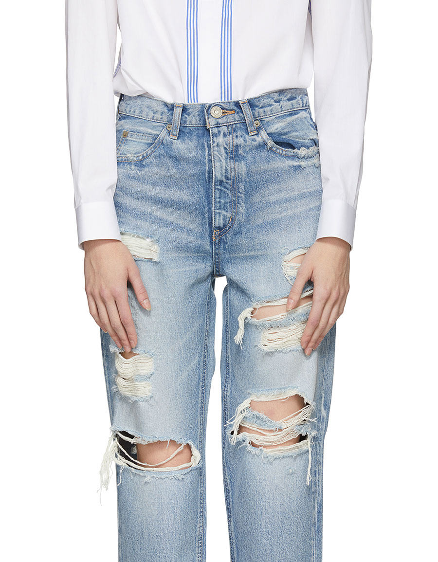 MOUSSY Blue Baron JW Tapered Jeans