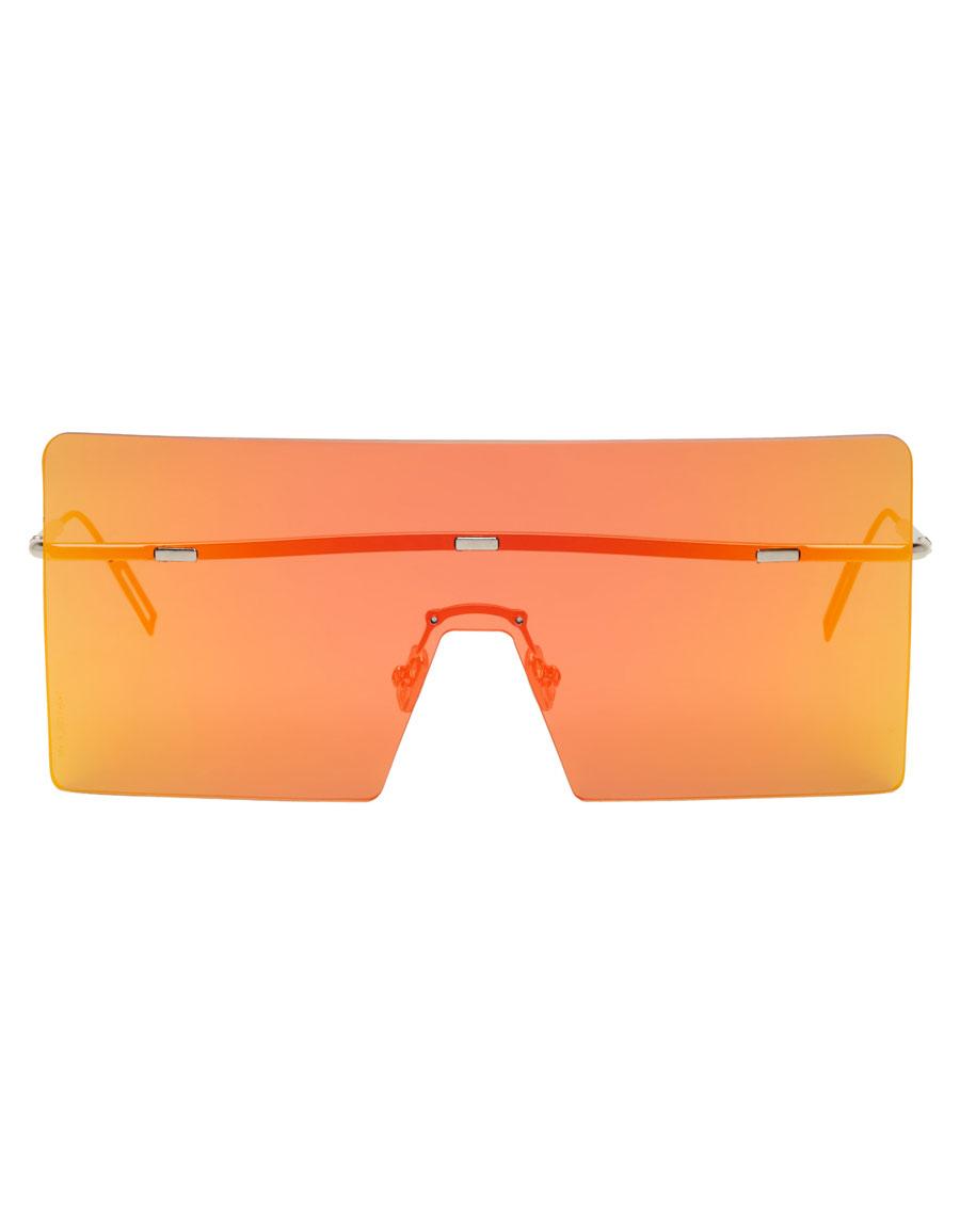 DIOR Orange Hardior Shield Sunglasses