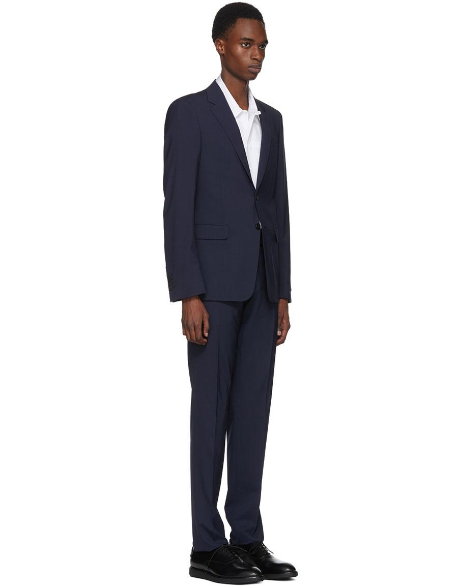 PRADA Navy Lightweight Wool Suit