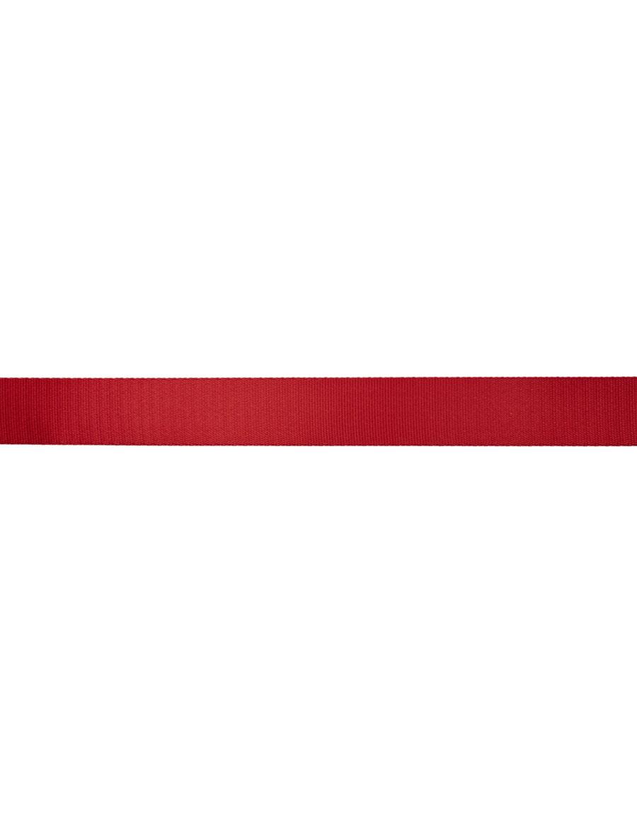 Y 3 Red Logo Belt
