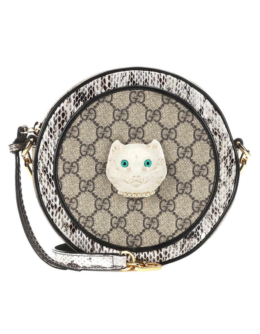 GUCCI Patchwork mini shoulder bag