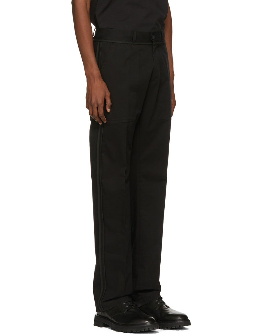 YANG LI Black New Chino Trousers
