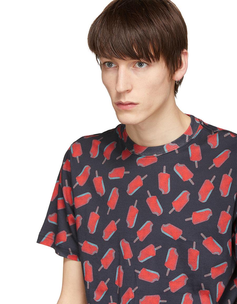PAUL SMITH Black Popsicle T Shirt