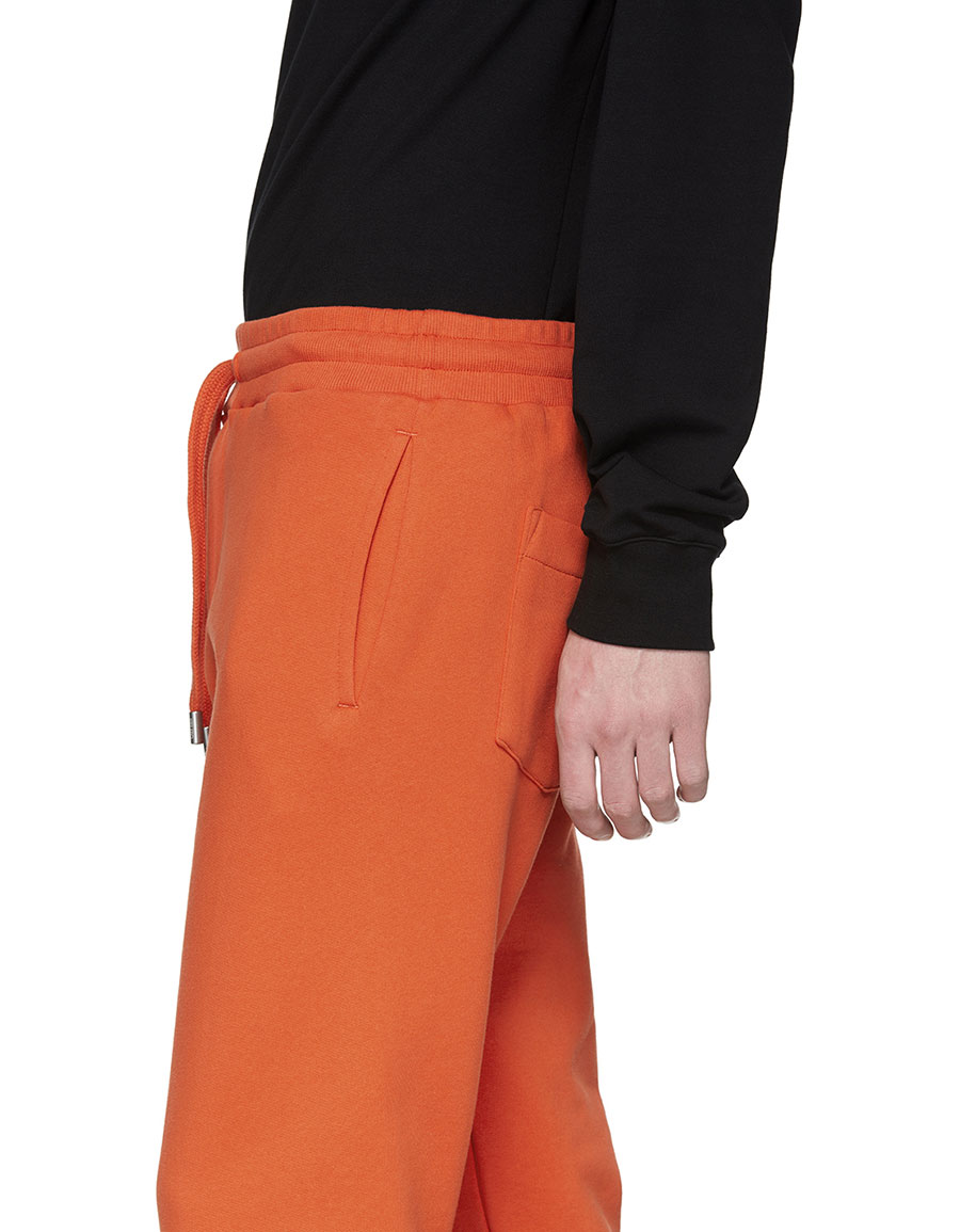 KENZO Orange Logo Lounge Pants