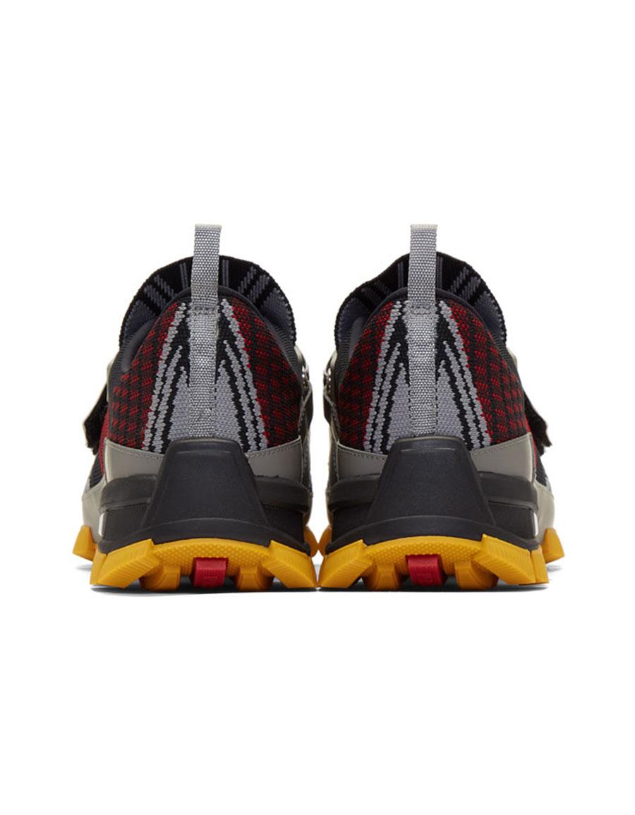 PRADA Black Nylon Tech Fly Sneakers