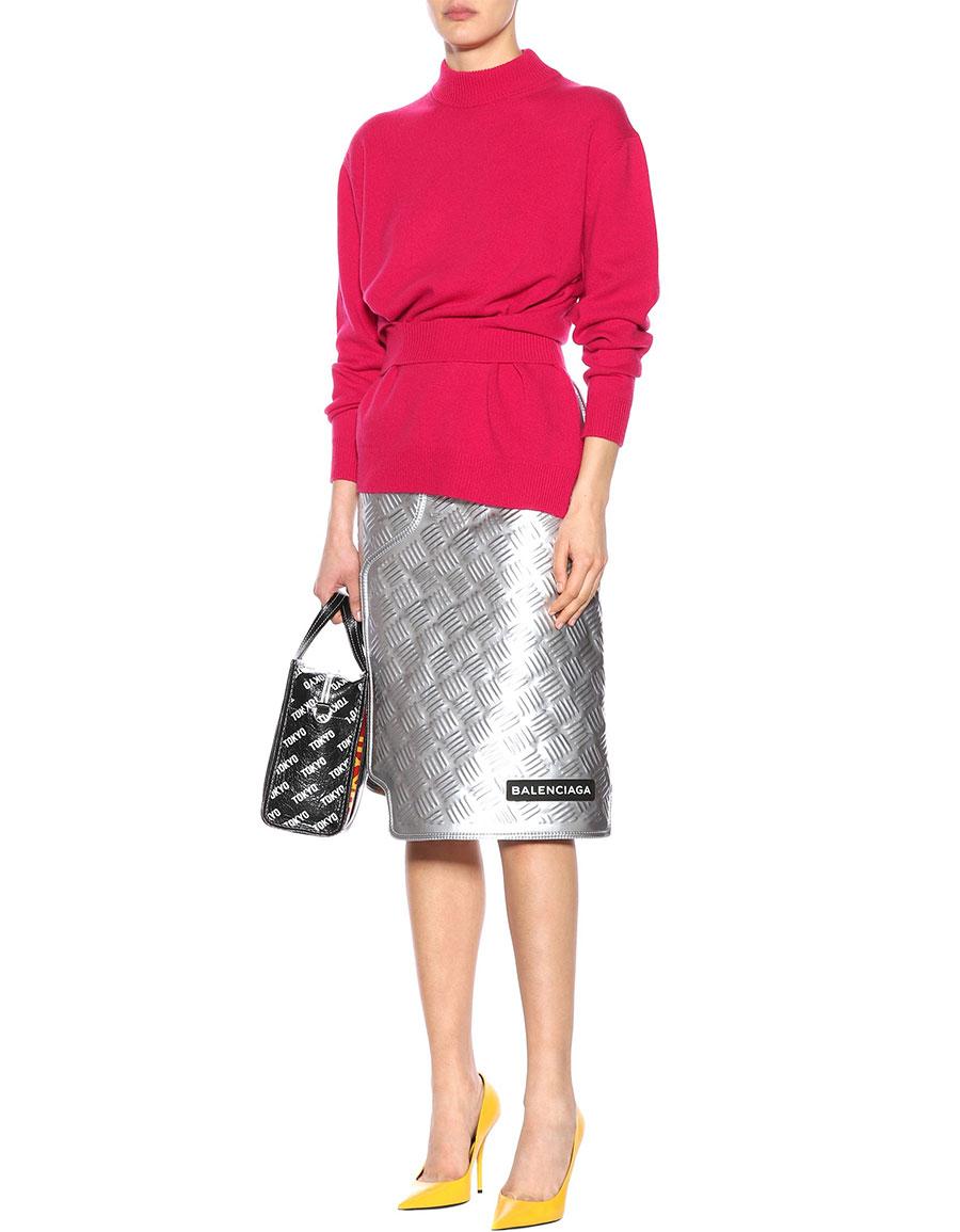 BALENCIAGA Wool and cashmere sweater