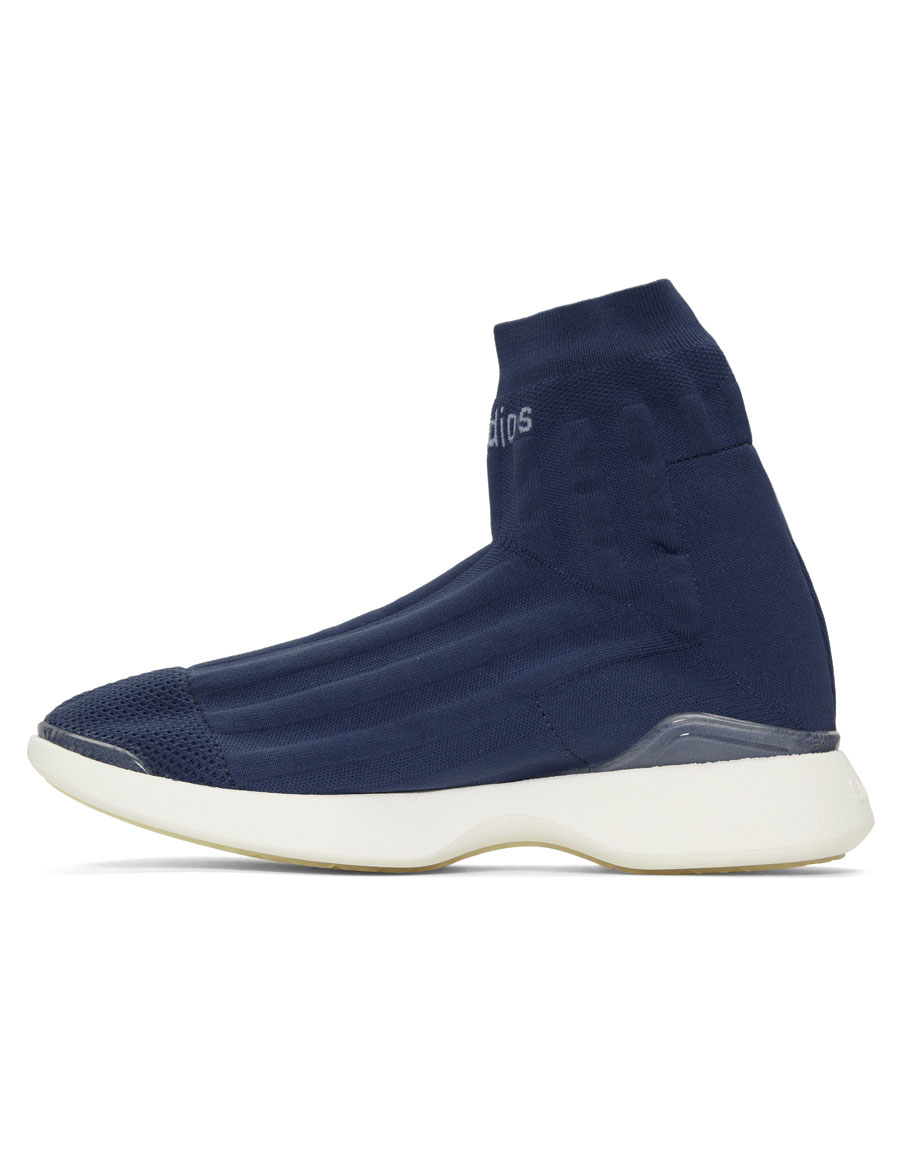 ACNE STUDIOS Blue Tristian High Top Sneakers