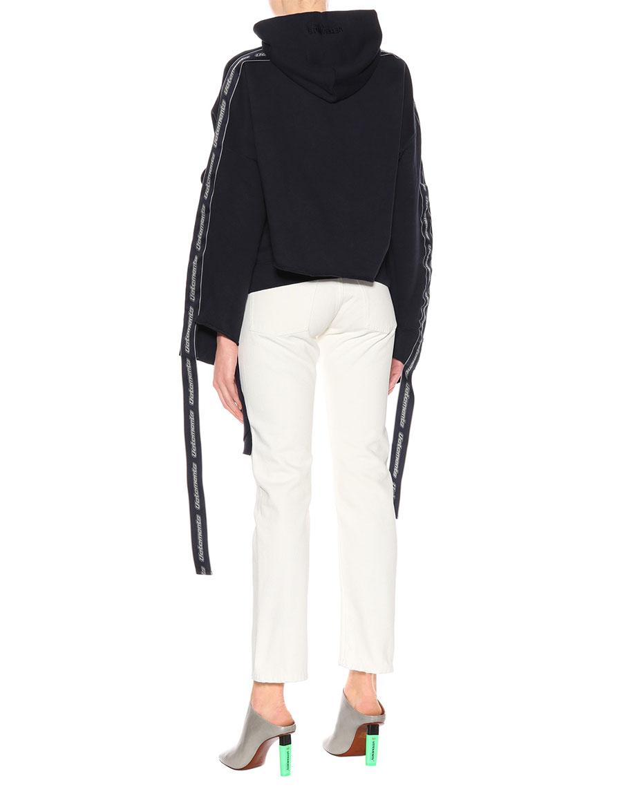 VETEMENTS Cotton blend hoodie