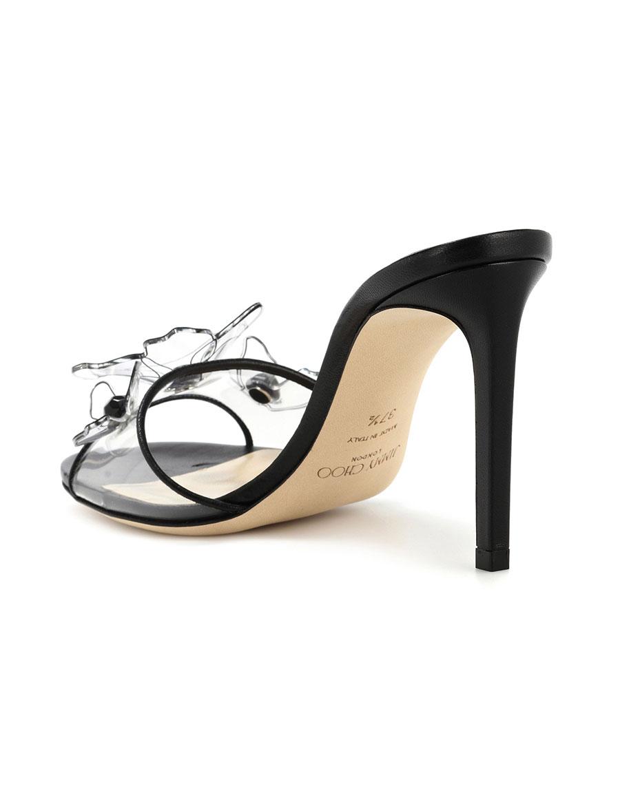 JIMMY CHOO Saskia 85 embellished sandals