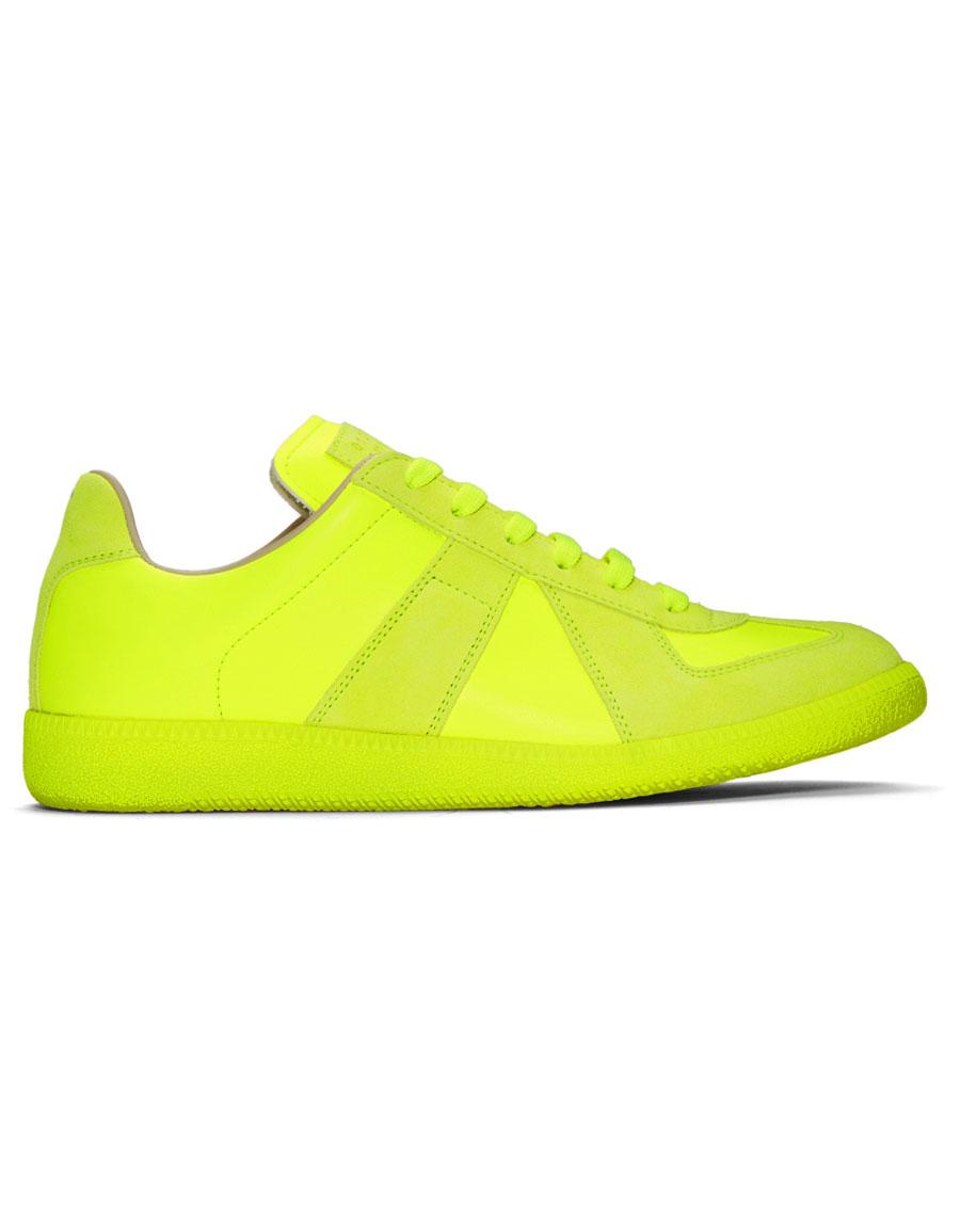 MAISON MARGIELA Yellow Replica Sneakers