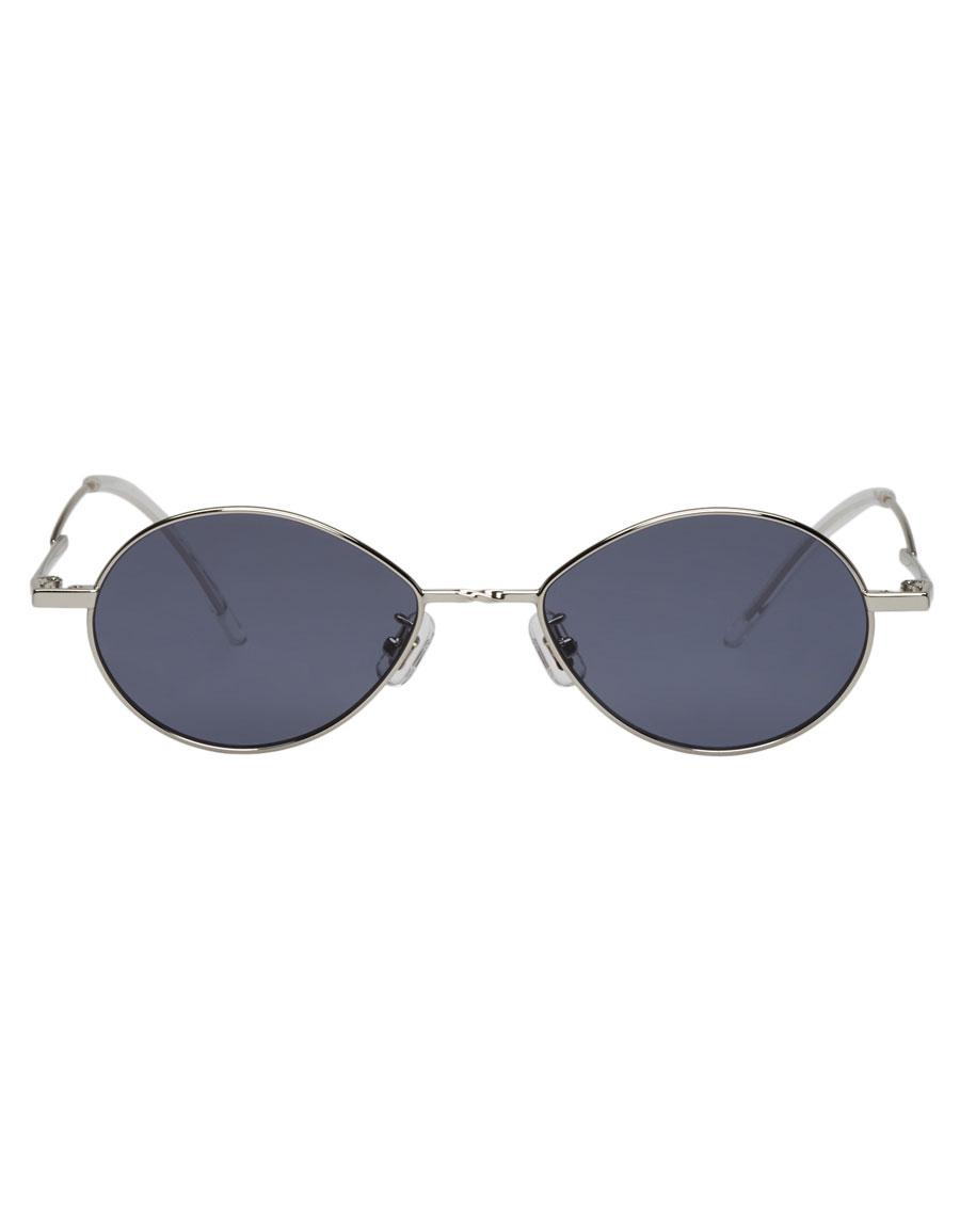 GENTLE MONSTER Silver & Grey Cobalt Sunglasses