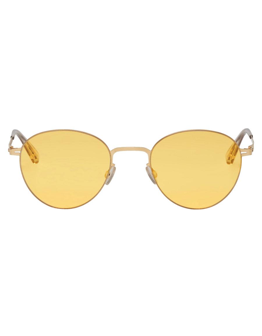 MYKITA Gold Eito Sunglasses