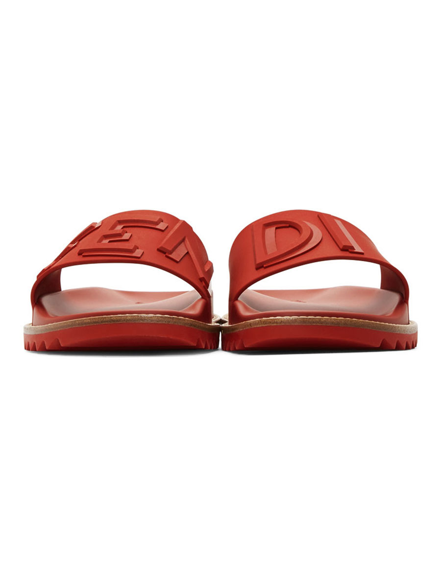buy cheap browse Fendi Red 'Fendi Vocabulary' Sandals for sale discount sale buy cheap get to buy official online LDvgbAb