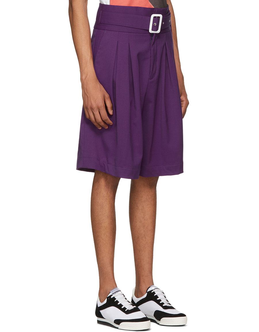 KENZO Purple Eighties Shorts