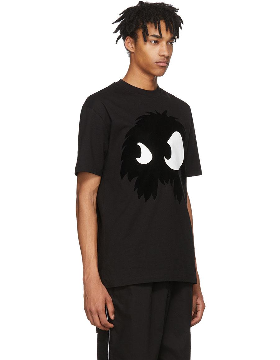 ALEXANDER MCQUEEN Black 'Mad Chester' T Shirt