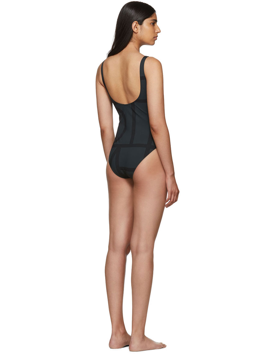 TOTÊME Black Positano Swimsuit