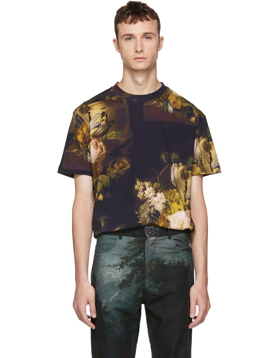 ALEXANDER MCQUEEN Multicolor Dutch Masters T Shirt