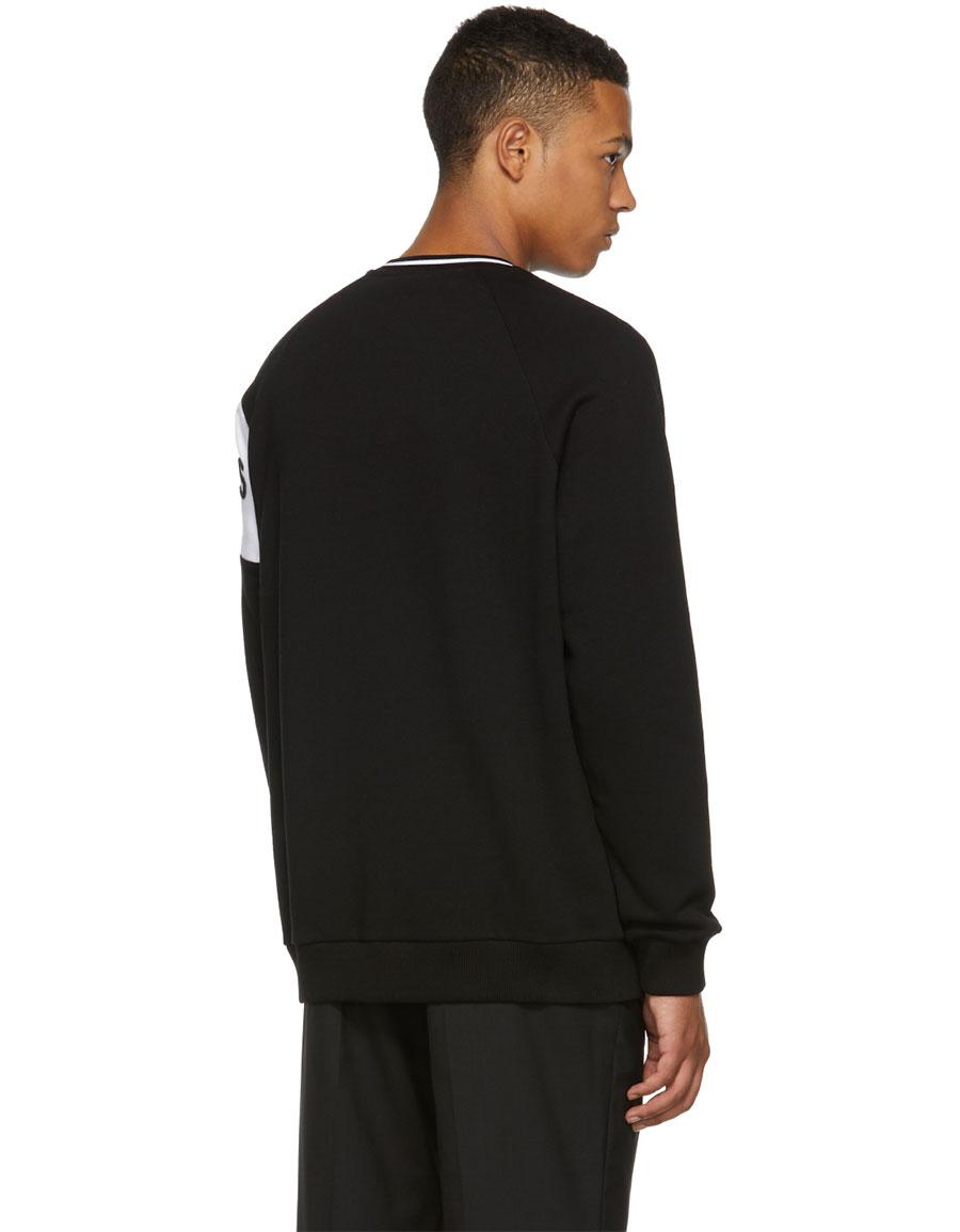 GIVENCHY Black & White 4G Vintage Fit Sweatshirt